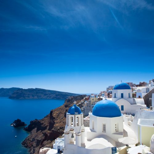 Cruise to Santorini Island
